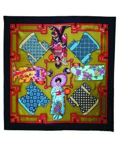 Sales Geishas - 90 x 90 cm