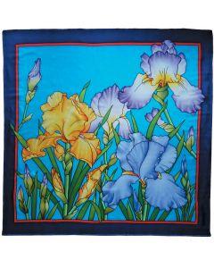 Starterspakket compleet | Kleur je eigen zijden sjaal | 90 x 90 cm