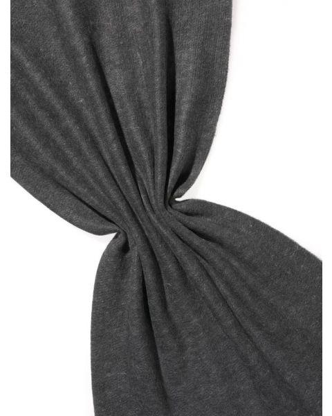 Kleur 80 Zwart Wit Zijde-Wol Flyfel Naaldvilt