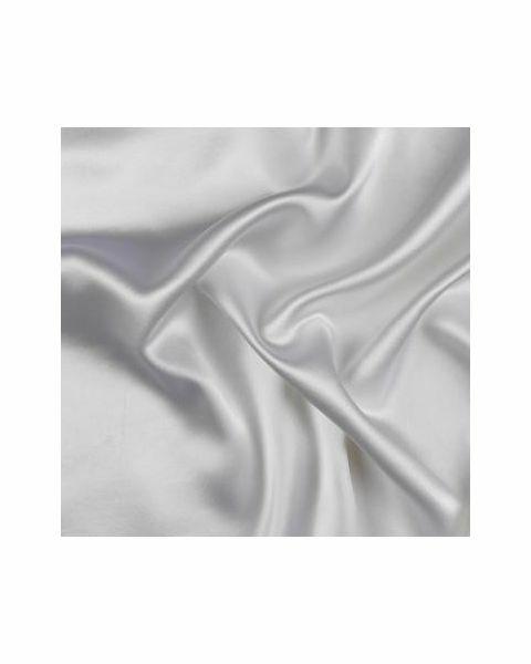 Crêpe Satin Zware Kwaliteit / Wit / 140 cm breed