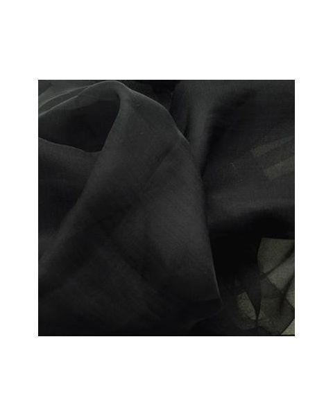 Chiffon Changeant / Zwart / 148 cm breed