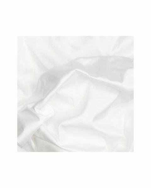 Doupion Glad / Wit / 137 cm breed
