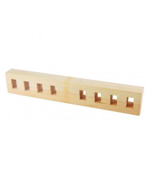 Spanraam 55 x 55 cm - blokjes verstelbaar