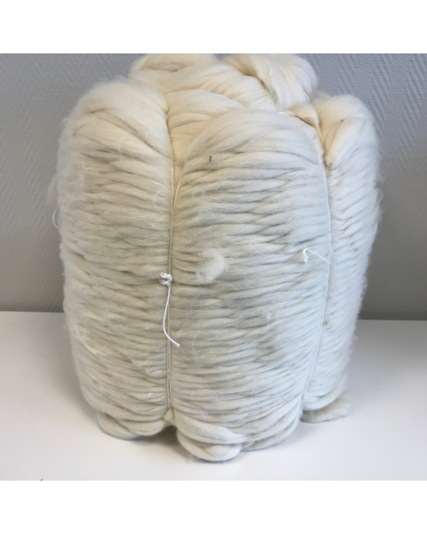 Bump 10 kilo Lontwol Ivory