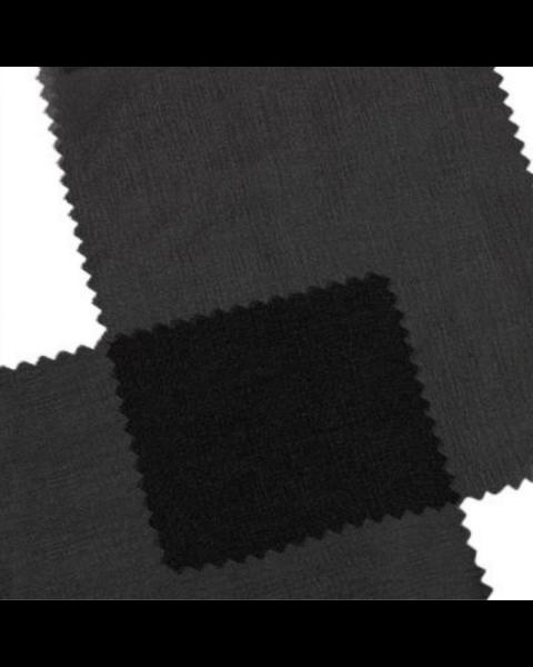 Sales Rol 48 meter | Chiffon 3.5 / Zwart / 110 cm breed