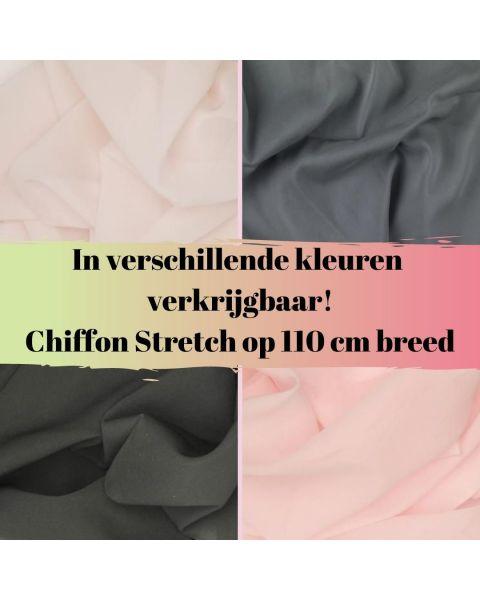 Chiffon Stretch - Kleur