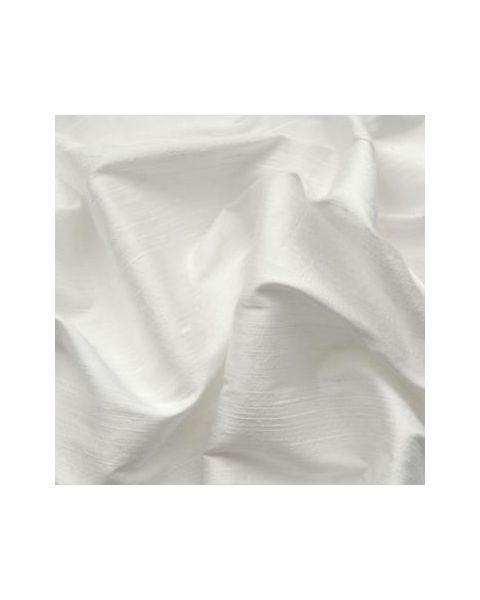Deze doupion is grof - met een structuur - en wit geverfd.