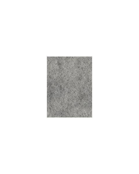 Kleur 01 Zwart - Wit Duo Flyfel Naaldvilt 100% merinowol