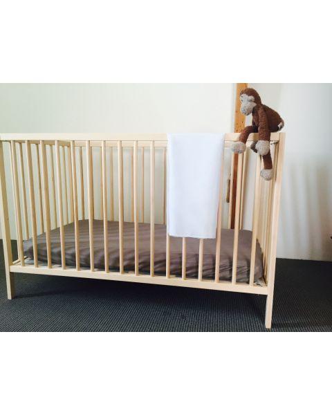 Baby Lakentje | 90 x 90 cm | Soft Blue