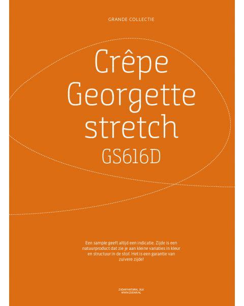 Grande Collectie stalenkaart (los) - Crêpe Georgette Stretch Kleur