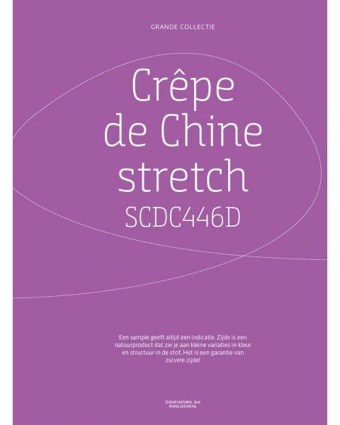 Grande Collectie stalenkaart (los) - Crêpe de Chine Stretch Kleur