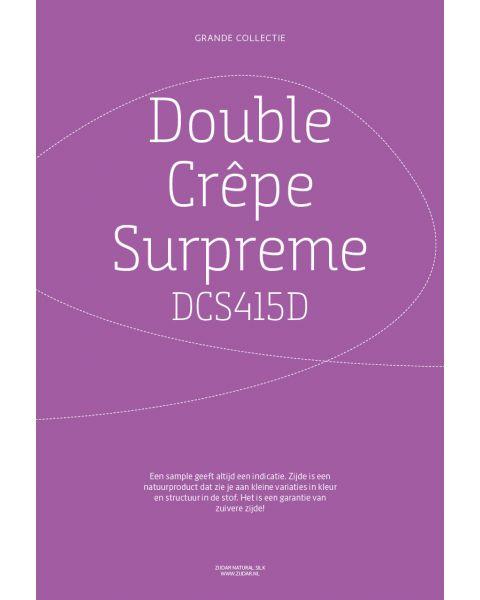 Grande Collectie stalenkaart (los) - Double Crêpe Surpreme Kleur