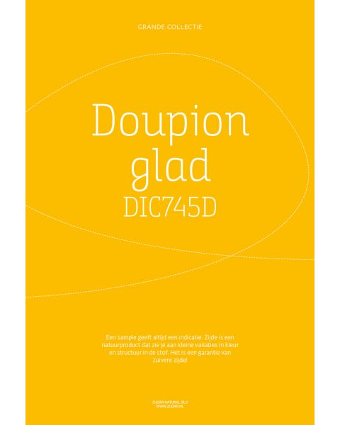 Grande Collectie stalenkaart (los) - Doupion Glad Kleur