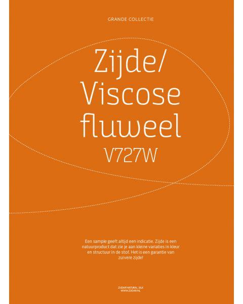 Grande Collectie stalenkaart (los) - Zijde-Viscose Fluweel Kleur