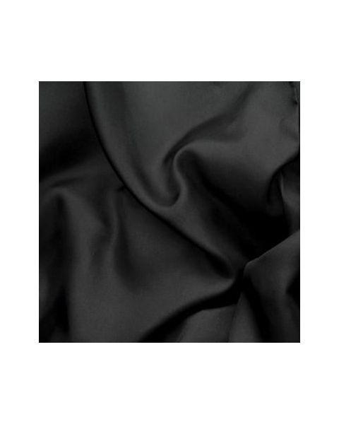 Pongee 8 / Zwart / 140 cm breed