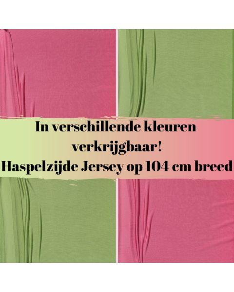 Haspelzijde Jersey - Kleur