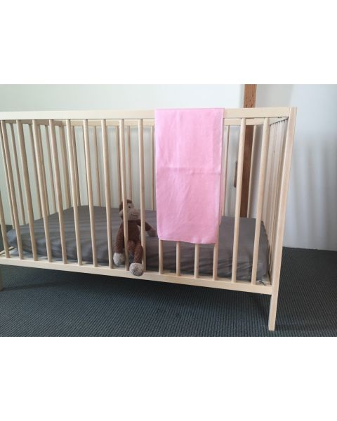 Baby Lakentje | 90 x 90 cm |Dusky Pink