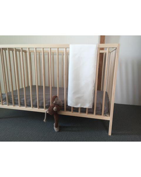 Baby Lakentje | 90 x 90 cm | Kleur White Heaven