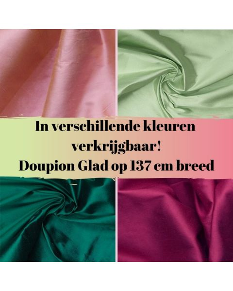 In diverse kleuren verkrijgbaar doupion glad