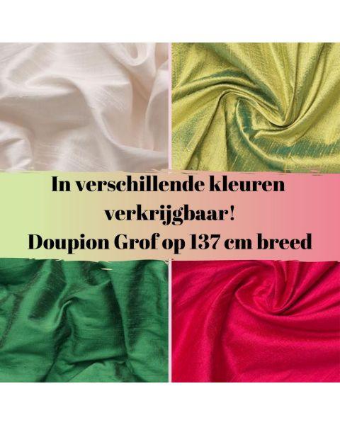 In diverse kleuren verkrijgbaar doupion grof