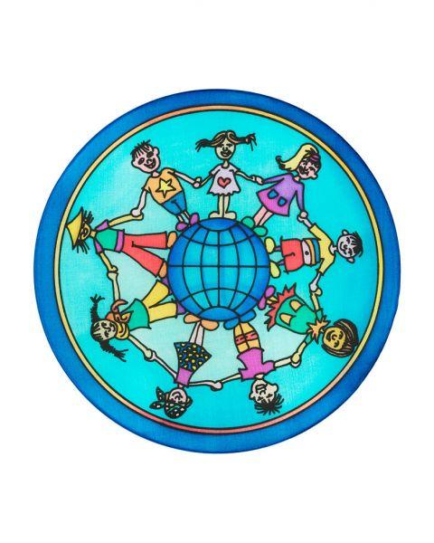 Kids World ingekleurd voorbeeld 1