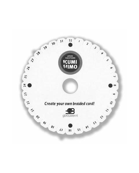 Kumi Himo disc voor Japans Vlechtwerk