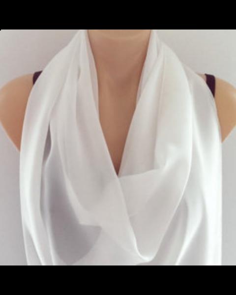 Pongee 5 sjaal | 160 x 45 cm