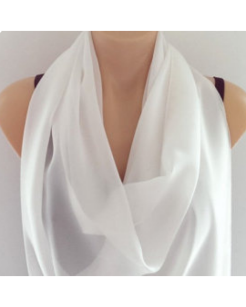 Pongee 5 sjaal | 28 x 28 cm