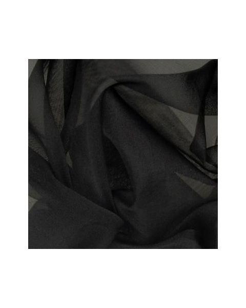 Organza 5.5 / Zwart / 140 cm breed