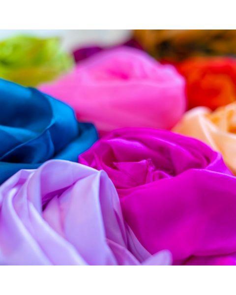 Pongee 5 sjaals Kleur 180 x 45 cm