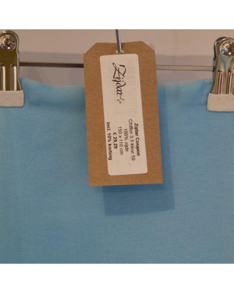 Zijdar coupon Chiffon 3.5 kleur 59 / 100% zijde / 150 x 110 cm