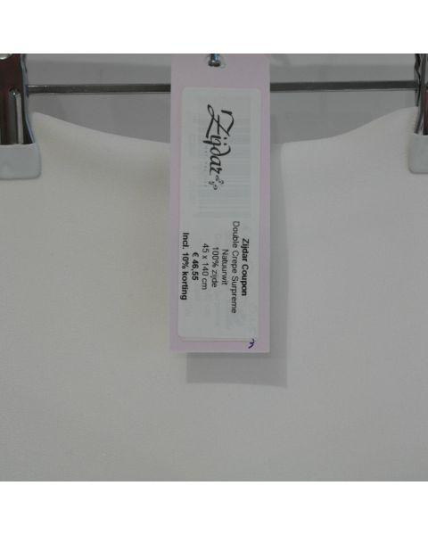 Zijdar coupon Double Crepe Surpreme / 100% zijde / 45 x 140 cm