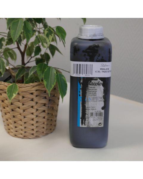 Pebeo Setacolor zwart - 1 liter - beschadigde fles