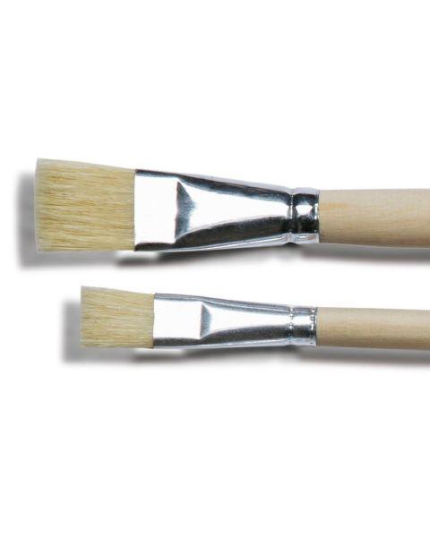 Set van 2 houten kwasten no 16 en 20