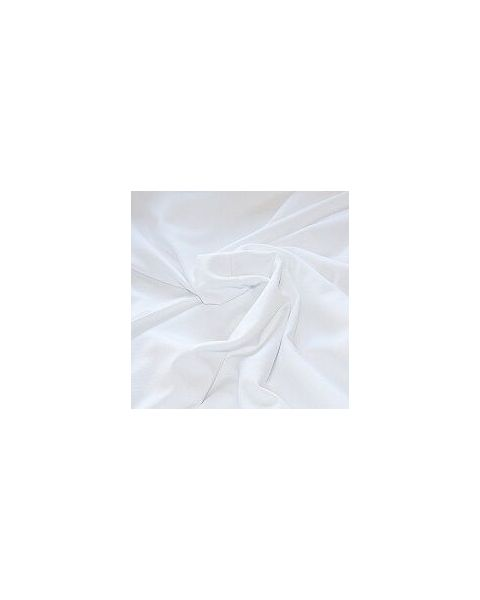 Viscose Crepe de Chine / Wit / 135 cm breed