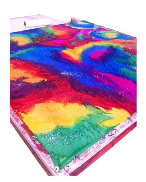 Effectzout voor zijdeschilderen Fijn